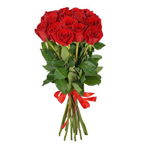 Букет из 15 роз Эквадор (Premium 60см)