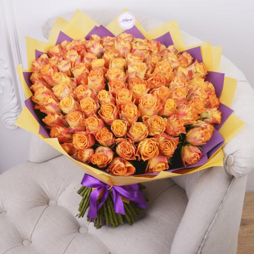 101 Огненная роза