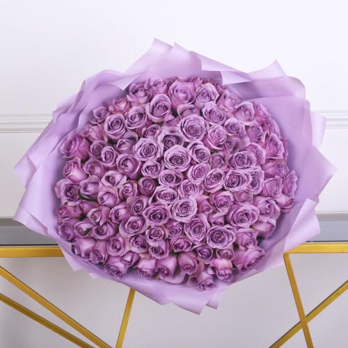 101 Сиреневая роза
