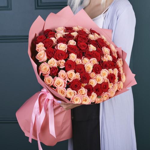 101 Микс (розы Premium 60см)
