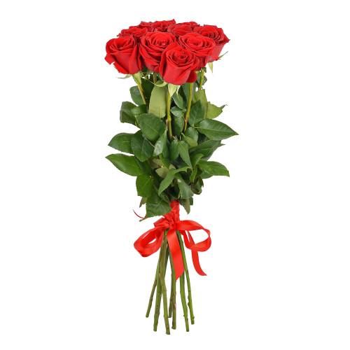 Букет из 9 роз (Premium 60см)