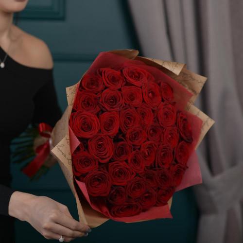 51 Красная Роза(Premium 40см)