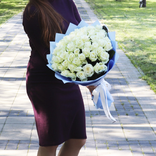 51 Белая Роза(Premium 50см)