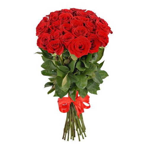 Букет из 25 роз Эквадор (Premium 60см)