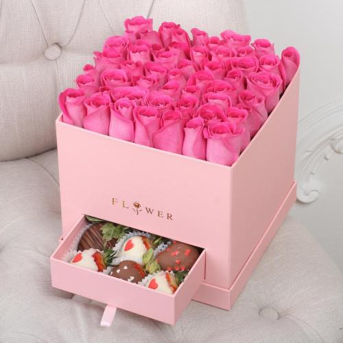 Розовая Коробка с Секретом